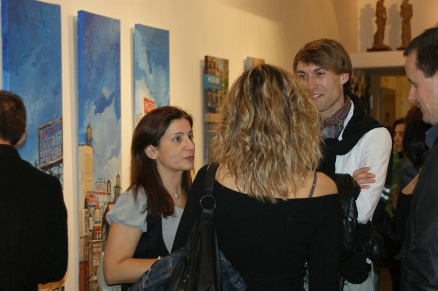 Xavi Saez - Ciudades 2010 - Inauguración 12